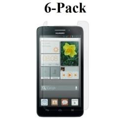 6-Pack Skärmskydd Huawei Ascend Y550