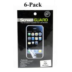 6-Pack Skärmskydd Huawei P9 Plus