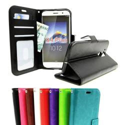 Crazy Horse Wallet Lenovo Motorola Moto G4 / G4 Plus Grön