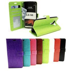 Crazy Horse Wallet LG G6 (H870) Svart