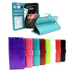 Crazy Horse Wallet LG X Screen (K500N) Grön