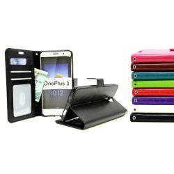 Crazy Horse Wallet OnePlus 3T Turkos H745