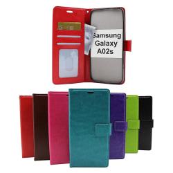 Crazy Horse Wallet Samsung Galaxy A02s (A025G/DS) Turkos