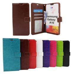 Crazy Horse Wallet Samsung Galaxy A10 (A105F/DS) Grön