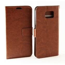 Crazy Horse wallet Samsung Galaxy S6 (G920F) Brun