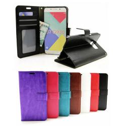 Crazy Horse Wallet Samsung Galaxy S7 (G930F) Turkos