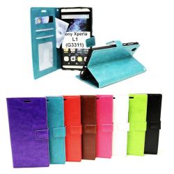 Crazy Horse Wallet Sony Xperia L1 (G3311) Svart