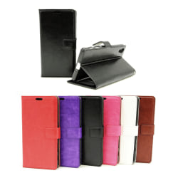 Crazy Horse Wallet Sony Xperia X (F5121) Brun