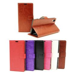 Crazy Horse Wallet Sony Xperia XA (F3111) Brun