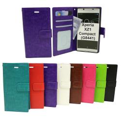 Crazy Horse Wallet Sony Xperia XZ1 Compact (G8441) Lila