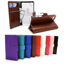 Crazy Horse Wallet Sony Xperia Z5 Compact (E5823) Svart