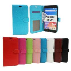 Crazy Horse Wallet Xiaomi Mi A1 Brun