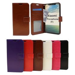 Crazy Horse Wallet Xiaomi Pocophone F1 Vit