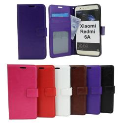 Crazy Horse Wallet Xiaomi Redmi 6A Brun