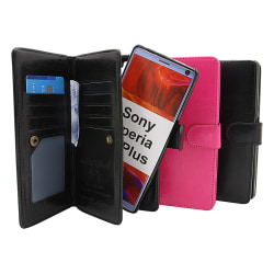 Crazy Horse XL Magnet Wallet Sony Xperia 10 Plus Svart