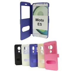 Flipcase Motorola Moto E5 / Moto E (5th gen) Champagne