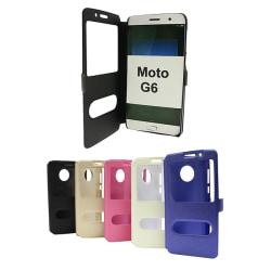 Flipcase Motorola Moto G6 Hotpink