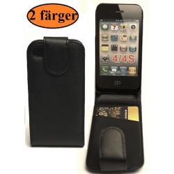 Flipfodral iPhone 4/4S Svart