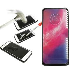 Full Frame Glas skydd Motorola One Hyper (Svart)