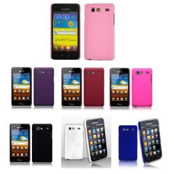 Hardcase skal Samsung Galaxy S Advance (i9070) Vit