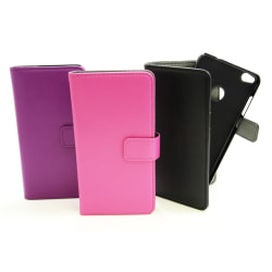 Magnet Wallet Huawei Honor 8 Lite Hotpink