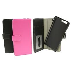 Magnet Wallet Huawei P10 Plus Hotpink