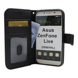 New Standcase Wallet Asus ZenFone Live (ZB501KL)