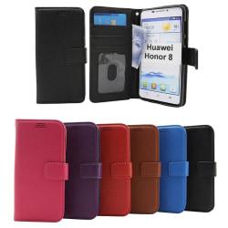 New Standcase Wallet Huawei Honor 8 Röd