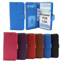 New Standcase Wallet Huawei P20 Lite (ANE-LX1) Lila