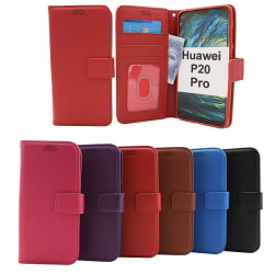 New Standcase Wallet Huawei P20 Pro (CLT-L29) Lila