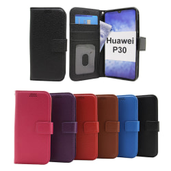 New Standcase Wallet Huawei P30 Lila