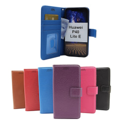 New Standcase Wallet Huawei P40 Lite E Blå