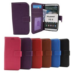 New Standcase Wallet Huawei Y5 II Lila