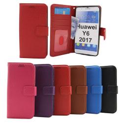 New Standcase Wallet Huawei Y6 2017 (MYA-L41) Hotpink