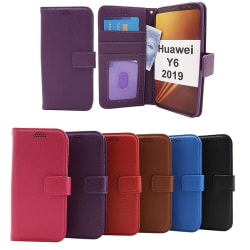 New Standcase Wallet Huawei Y6 2019 Lila