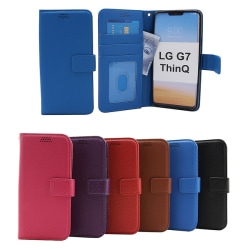 New Standcase Wallet LG G7 ThinQ (G710M) Blå