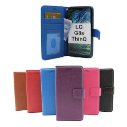 New Standcase Wallet LG G8s ThinQ (LMG810) Svart