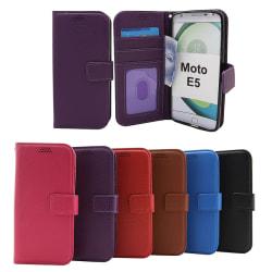 New Standcase Wallet Motorola Moto E5 / Moto E (5th gen) Lila