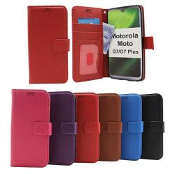 New Standcase Wallet Motorola Moto G7 / Moto G7 Plus Röd