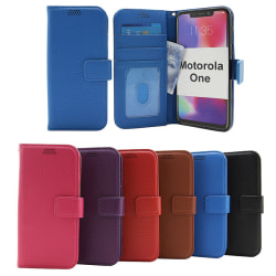 New Standcase Wallet Motorola One Lila
