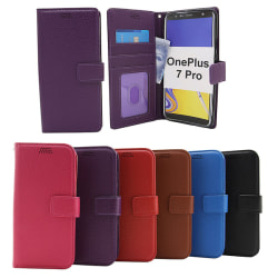 New Standcase Wallet OnePlus 7 Pro Lila