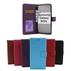 New Standcase Wallet Samsung Galaxy A02s (A025G/DS) Svart