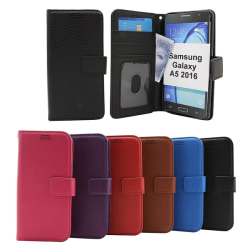 New Standcase Wallet Samsung Galaxy A5 2016 (A510F) Lila