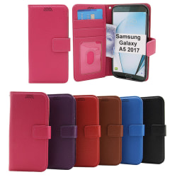 New Standcase Wallet Samsung Galaxy A5 2017 (A520F) Lila