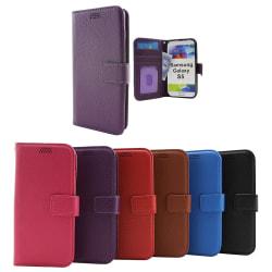 New Standcase Wallet Samsung Galaxy S5 / S5 Neo (G900F/G903F) Svart