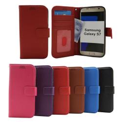New Standcase Wallet Samsung Galaxy S7 (G930F) Svart