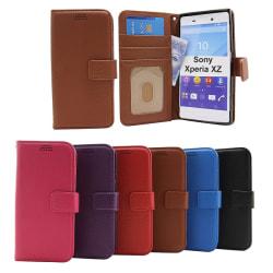 New Standcase Wallet Sony Xperia XZ / XZs  (F8331 / G8231) Brun