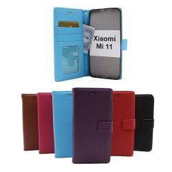 New Standcase Wallet Xiaomi Mi 11 Svart
