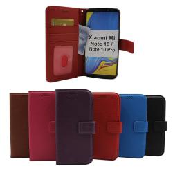 New Standcase Wallet Xiaomi Mi Note 10 / Note 10 Pro Svart