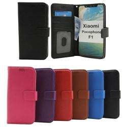 New Standcase Wallet Xiaomi Pocophone F1 Svart